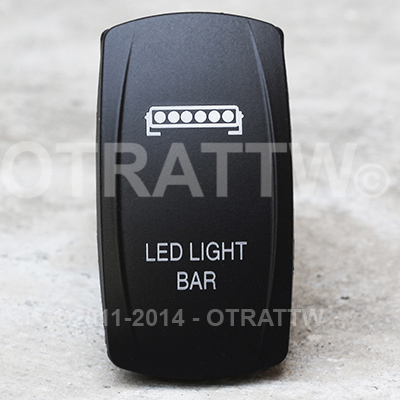 CONTURA V, LED SINGLE LIGHT BAR, UPPER LED INDEPENDENT