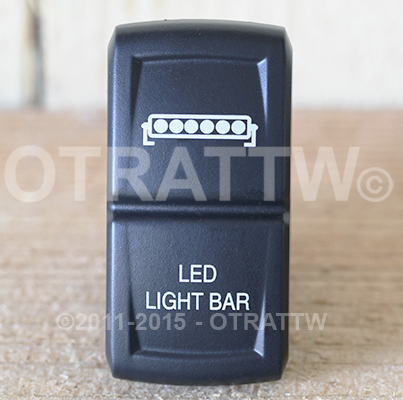 CONTURA XIV, LED SINGLE LIGHT BAR, LOWER LED INDEPENDENT