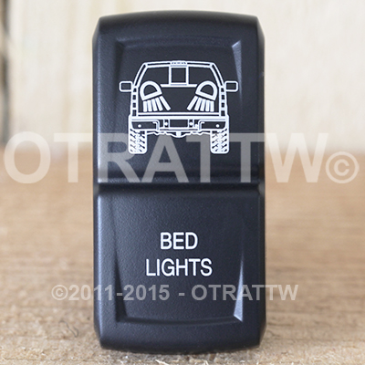CONTURA XIV, FORD F-150 BED LIGHTS, UPPER DEPENDENT LED ONLY