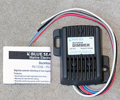 Blue Sea Deckhand Dimmer