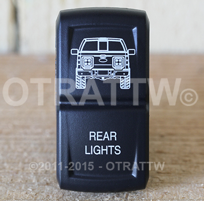CONTURA XIV, FORD F-150 REAR LIGHTS, UPPER DEPENDENT LED ONLY