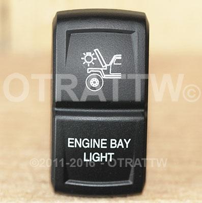 CONTURA XIV, ENGINE BAY LIGHTS, ROCKER ONLY