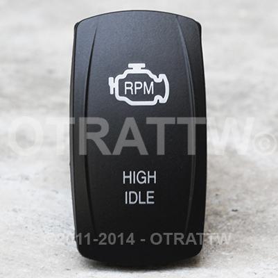 CONTURA V, ENGINE HIGH IDLE, UPPER LED INDEPENDENT