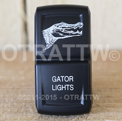CONTURA XIV, GATOR LIGHTS, ROCKER ONLY