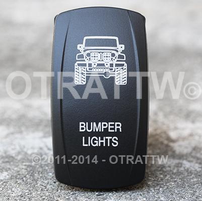 CONTURA V, JEEP JK BUMPER LIGHTS, ROCKER ONLY