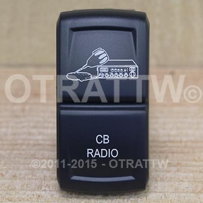 CONTURA XIV, CB RADIO, ROCKER ONLY