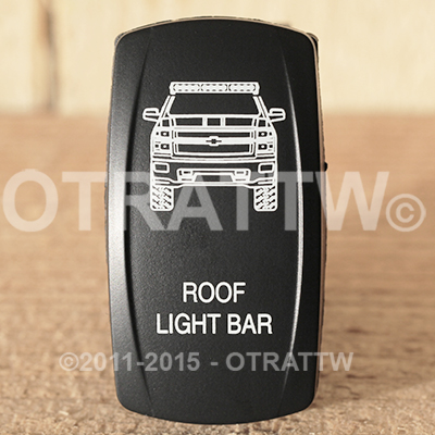 CONTURA V, CHEVY ROOF LIGHT BAR, LOWER LED INDEPENDENT