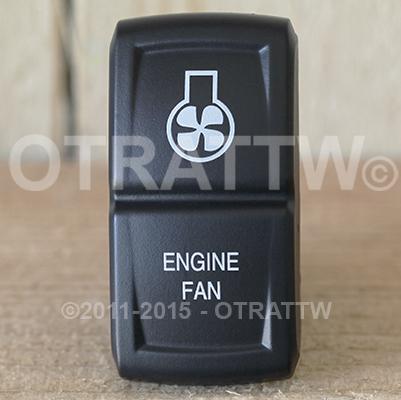 CONTURA XIV, ENGINE FAN, ROCKER ONLY