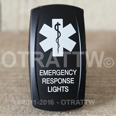 CONTURA V, EMERGENCY RESPONSE LIGHTS, UPPER LED INDEPENDENT