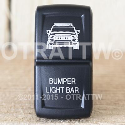 CONTURA XIV, FJ CRUISER BUMPER LIGHT BAR, ROCKER ONLY