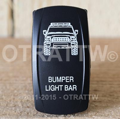 CONTURA V, FJ CRUISER BUMPER LIGHT BAR, LOWER LED INDEPENDENT