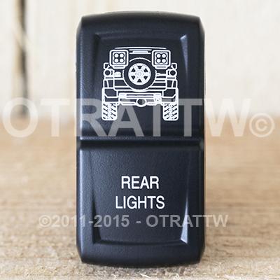 CONTURA XIV, FJ CRUISER REAR LIGHT, LOWER LED INDEPENDENT