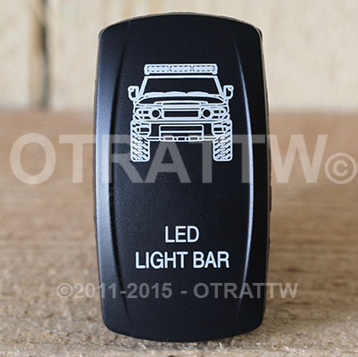 CONTURA V, FJ CRUISER LED LIGHT BAR, LOWER LED INDEPENDENT