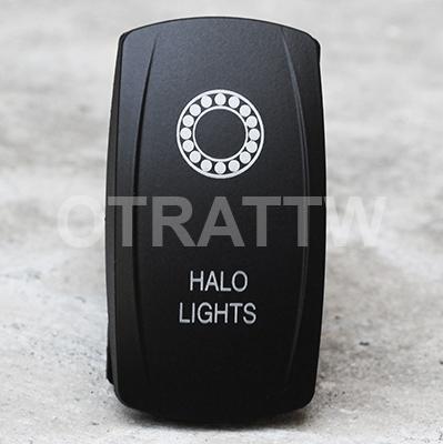 CONTURA V, HALO LIGHTS, UPPER DEPENDENT LED ONLY