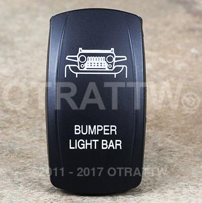 CONTURA V, BUMPER LIGHT BAR, ROCKER ONLY