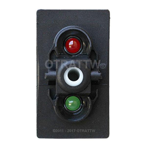 CONTURA V, RED/GREEN LEDS, LOWER LED INDEPENDENT
