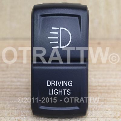 CONTURA XIV, DRIVING LIGHTS, UPPER LED INDEPENDENT