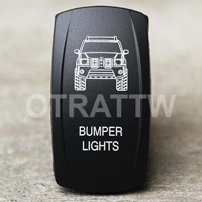 CONTURA V, XTERRA BUMPER LIGHTS, UPPER LED INDEPENDENT