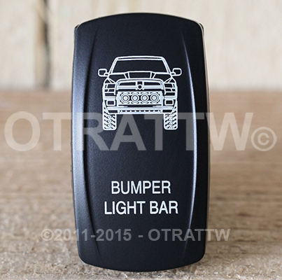 CONTURA V, DODGE RAM BUMPER LIGHT BAR, ROCKER ONLY