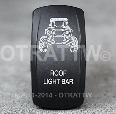 CONTURA V, RZR ROOF LIGHT BAR, UPPER LED INDEPENDENT