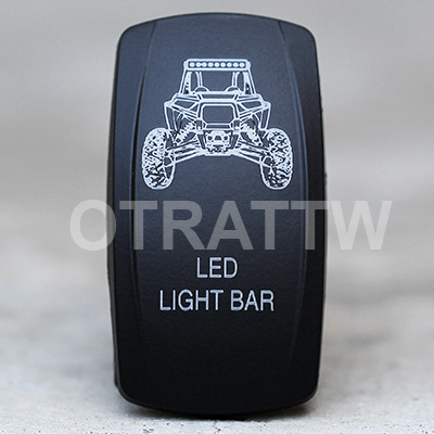 CONTURA V, RZR ROOF LIGHT BAR, UPPER DEPENDENT LED ONLY