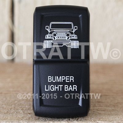 CONTURA XIV, JEEP TJ BUMPER LIGHT BAR, LOWER LED INDEPENDENT