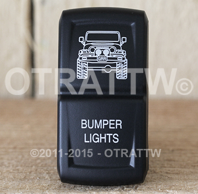 CONTURA XIV, JEEP TJ BUMPER LIGHTS, LOWER LED INDEPENDENT
