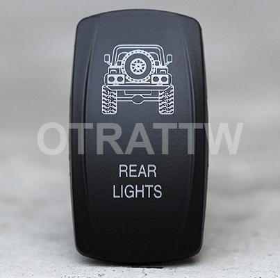 CONTURA V, JEEP TJ REAR LIGHTS, UPPER LED INDEPENDENT