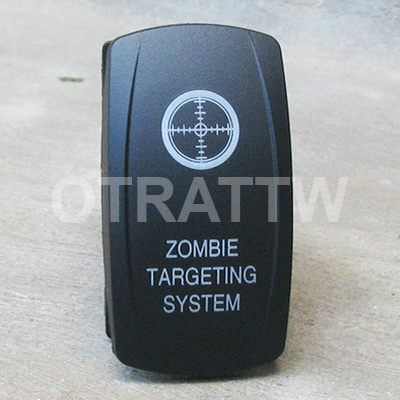 CONTURA V, ZOMBIE TARGETING SYSTEM, ROCKER ONLY