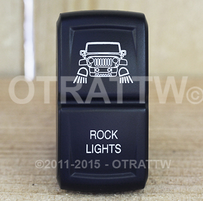 CONTURA XIV, JEEP JK ROCK LIGHTS, ROCKER ONLY