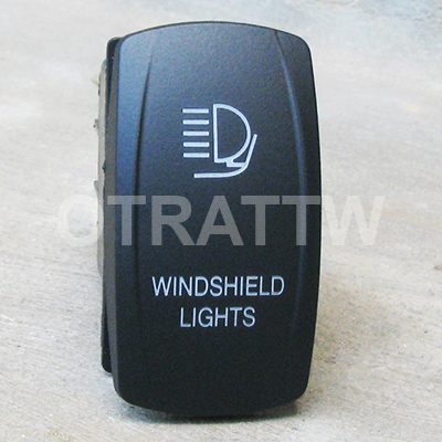 CONTURA V, WINDSHIELD LIGHTS, LOWER LED INDEPENDENT