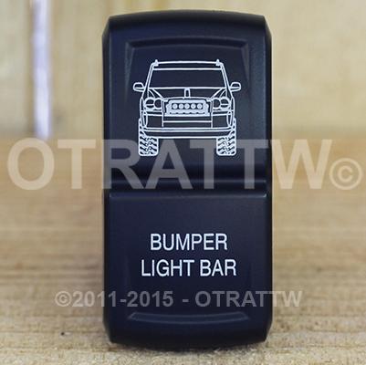 CONTURA XIV, JEEP GRAND CHEROKEE BUMPER LIGHT BAR, LOWER LED INDEPENDENT