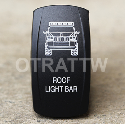 CONTURA V, JEEP GRAND CHEROKEE ROOF LIGHT BAR, LOWER LED INDEPENDENT