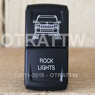 CONTURA XIV, JEEP GRAND CHEROKEE ROCK LIGHTS, UPPER LED INDEPENDENT