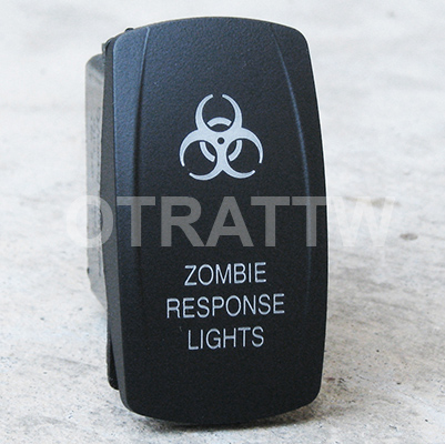 CONTURA V, ZOMBIE RESPONSE LIGHTS, ROCKER ONLY