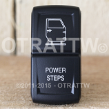 CONTURA XIV, JEEP JK POWER STEPS, UPPER LED INDEPENDENT