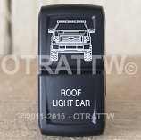 CONTURA XIV, FORD F-150 ROOF LIGHT BAR, UPPER DEPENDENT LED ONLY