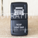 CONTURA XIV, FJ CRUISER LED LIGHT BAR, ROCKER ONLY
