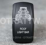 CONTURA V, RZR ROOF LIGHT BAR, UPPER LED INDEPENDENT