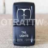 CONTURA XIV, TAIL LIGHTS, UPPER DEPENDENT LED ONLY