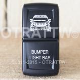 CONTURA XIV, FJ CRUISER BUMPER LIGHT BAR, UPPER LED INDEPENDENT