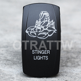 CONTURA V, STINGER LIGHTS, UPPER DEPENDENT LED ONLY