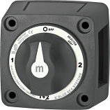 Blue Sea m-Series Mini Battery Selector Switch Black