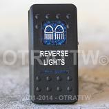 CONTURA II, REVERSE LIGHTS, BLUE LENS, LOWER INDEPENDENT, INCANDESCENT LIGHTS