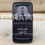 CONTURA XIV, RZR A-PILLAR LIGHTS, LOWER LED INDEPENDENT