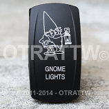 CONTURA V, GNOME LIGHTS, LOWER LED INDEPENDENT
