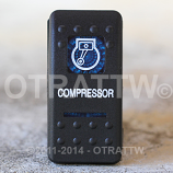 CONTURA II, COMPRESSOR, BLUE LENS, UPPER INDEPENDENT, INCANDESCENT LIGHTS