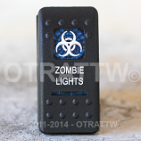 CONTURA II, ZOMBIE LIGHTS, BLUE LENS, ROCKER ONLY