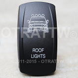 CONTURA V, FJ CRUISER ROOF LIGHTS, LOWER LED INDEPENDENT