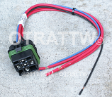 "HELLA, ISO WEATHERPROOF RELAY CONNECTOR WITH 12"" LEAD"